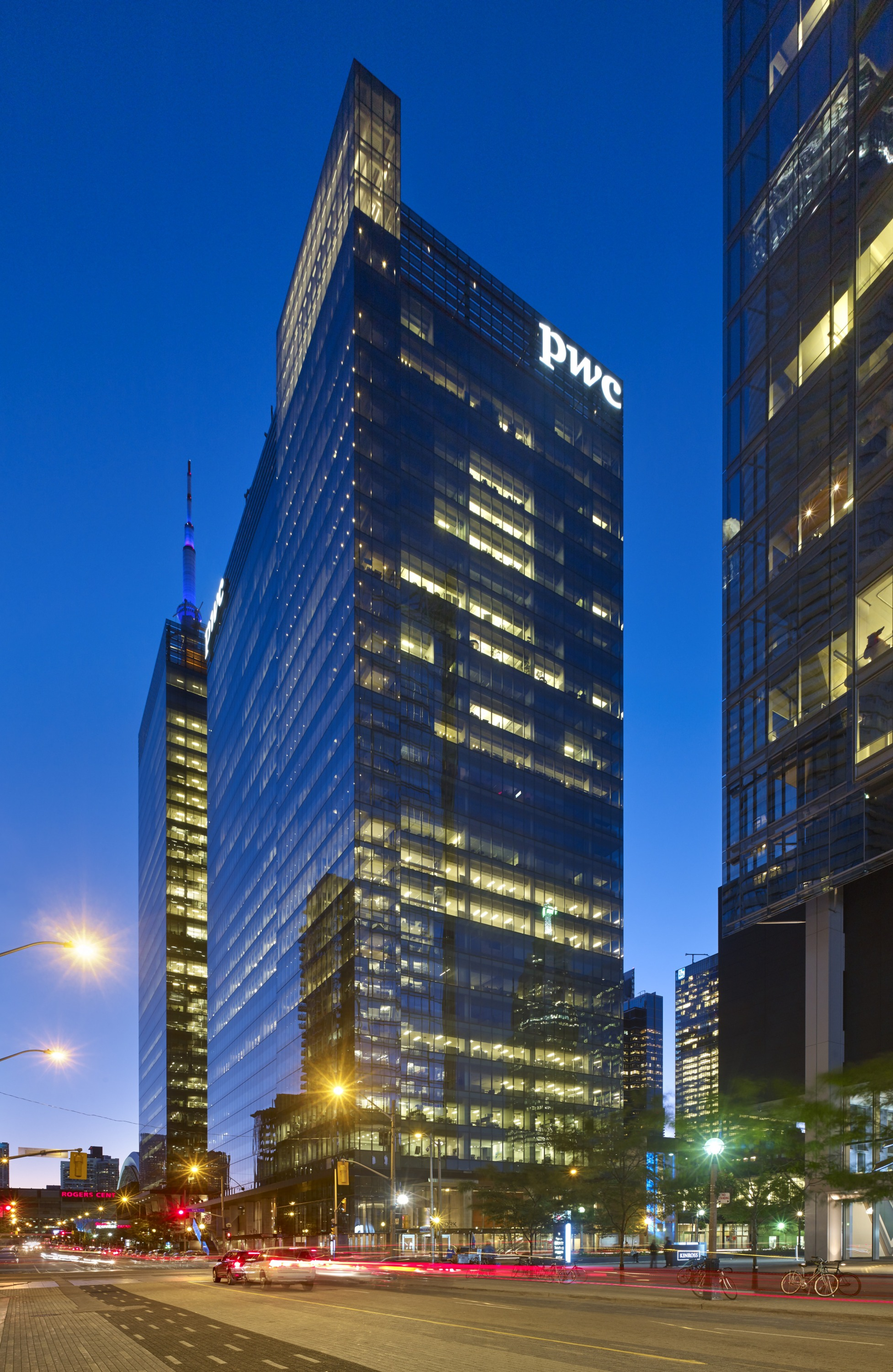 Southcore Financial Centre Bremner Tower And Pwc Tower