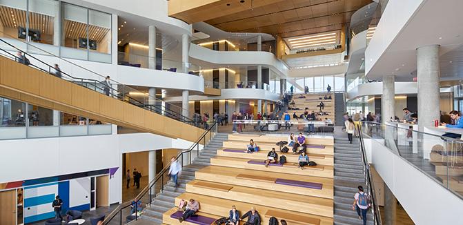 Spanish Steps - Kellogg School of Management