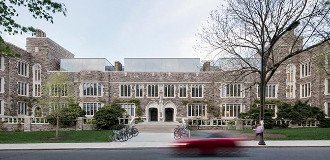 Julis Romo Rabinowitz Building - College