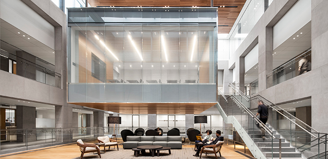Julis Romo Rabinowitz Building - Louis A. Simpson International Building