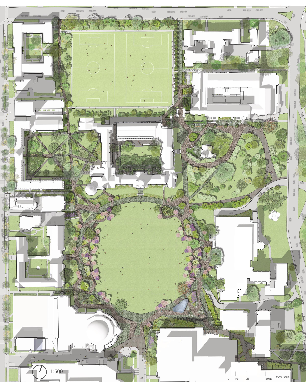 University of Toronto - St. George Campus - Plan