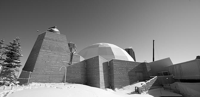 Contemporary Calgary - Centennial Planetarium