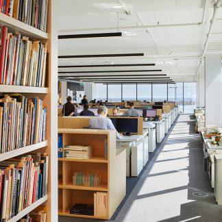 Bookcase - Public library
