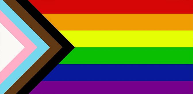 Rainbow flag - Gay pride