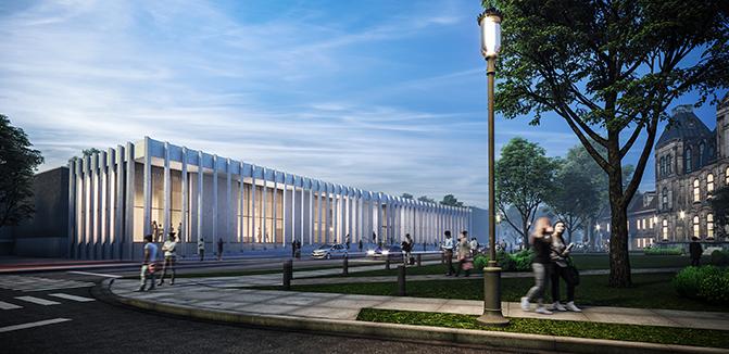 Beaverbrook Art Gallery - Architecture